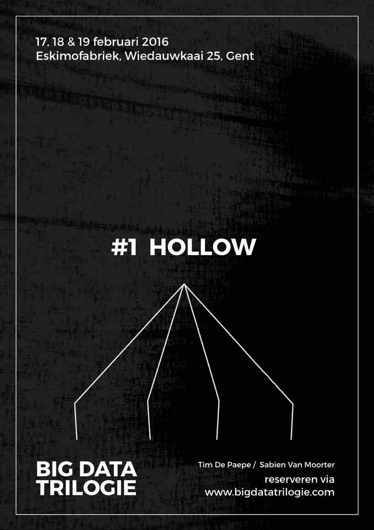 Affiche Hollow web